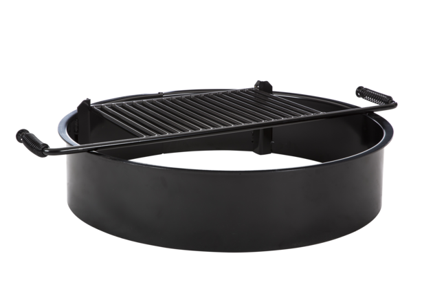 11284 non adjustablefirering singleflange grateup alt 110 - Jamestown - Camp Fire Rings - Jamestown Advanced Products™